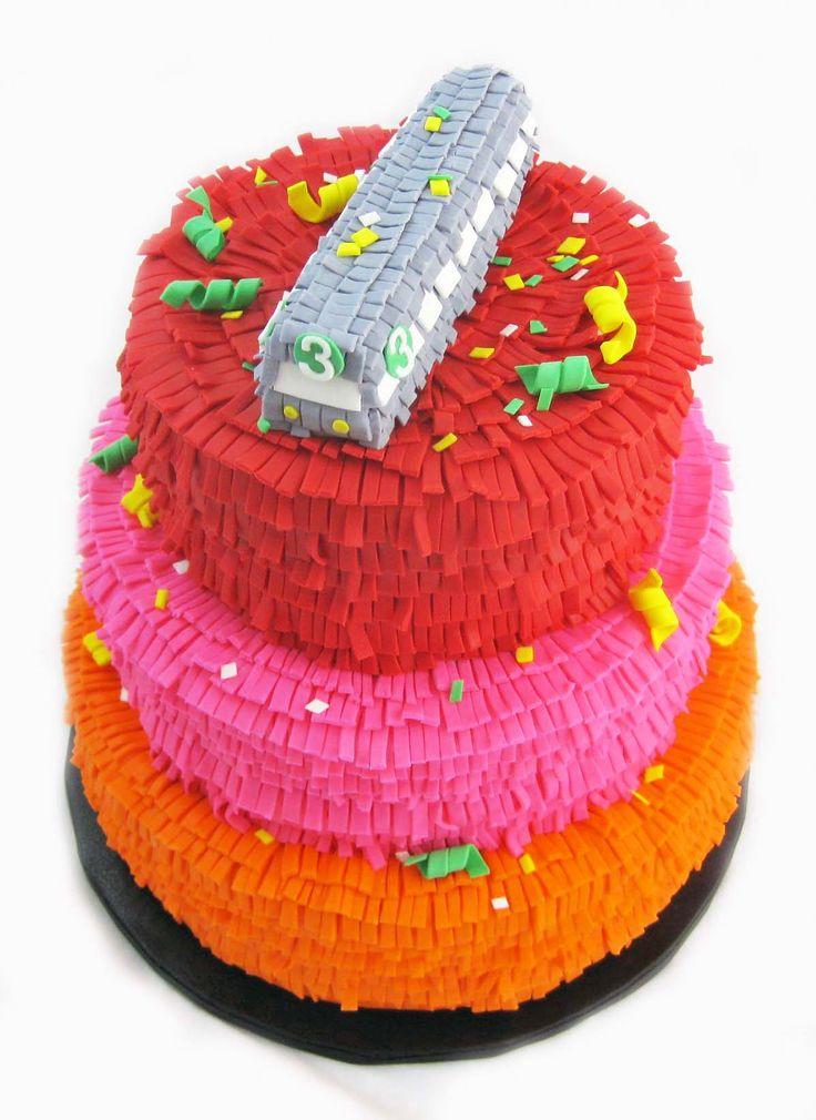 Birthday Cake Fiesta Cake By Cake Hero Of Brooklyn All Edible