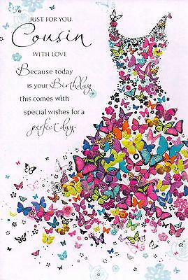 Birthday Quotes Female Cousin Traditional Card