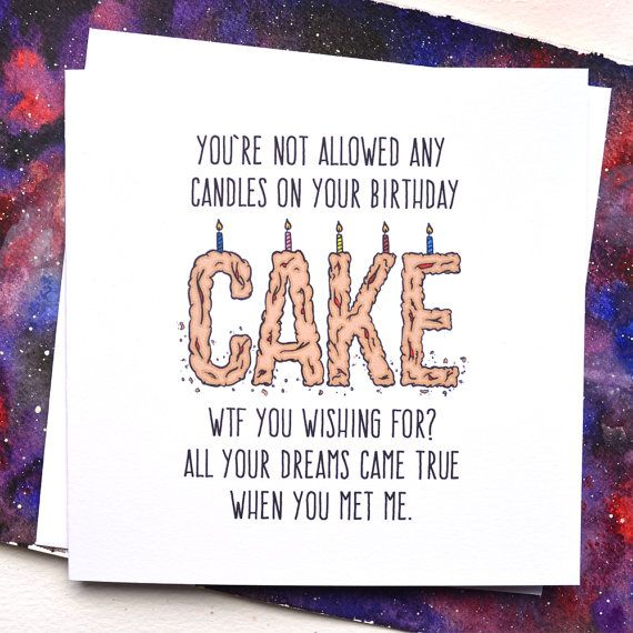 Birthday Quotes : Funny Boyfriend or Girlfriend Birthday ...