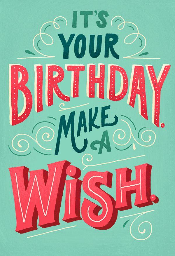 Birthday Quotes Hallmark Cards On Behance