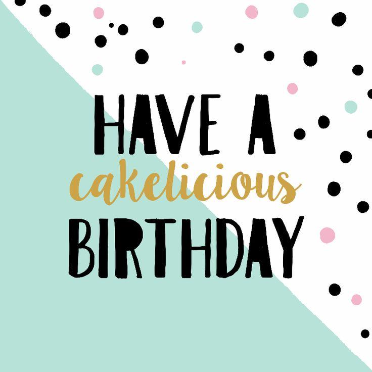 Birthday Quotes Hippe Kaart Om Iemand Een Fijne Verjaardag