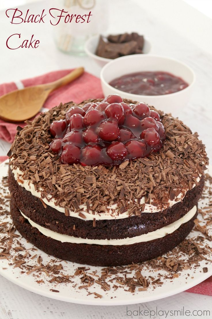 Black Sesame Layered Cake