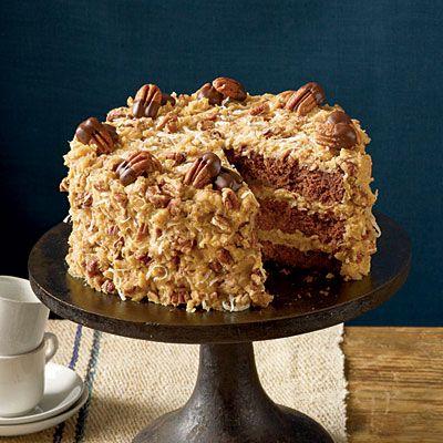 Birthday Cake : Mama's German Chocolate Cake Pure Southern
