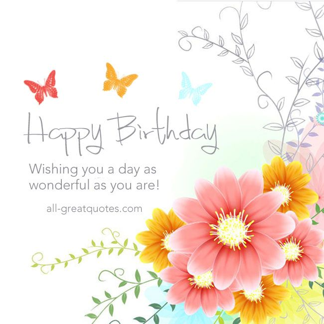 Birthday Quotes Description Happy