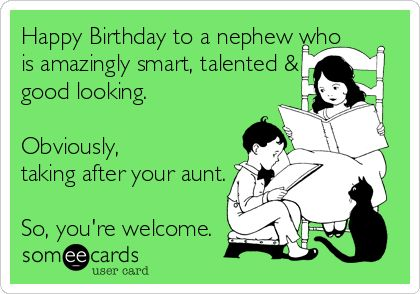 Birthday Quotes Description Search Results For Nephew Ecards From Free