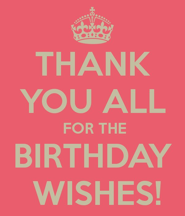 Birthday Quotes Thank You For Wishes Messages