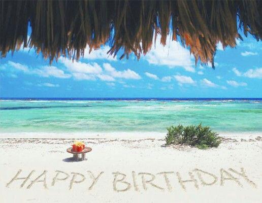 Beachy Birthday Wishes Images