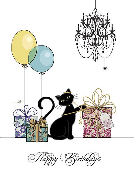 Happy Birthday Wiches : Happy Birthday! #birthday #cat ...