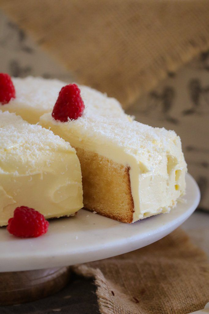 Birthday Cake A Simple White Chocolate Mud Cake Made With A