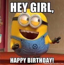 Happy Birthday Wiches : 25 Funny Minions Happy Birthday ...