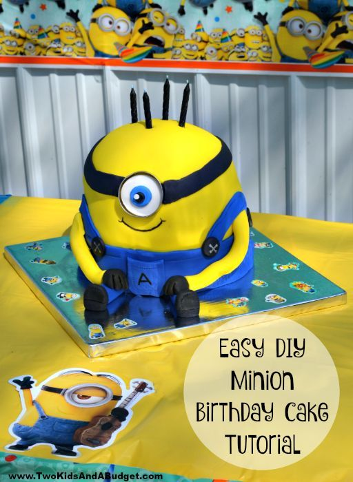 Description This DIY Minion Birthday