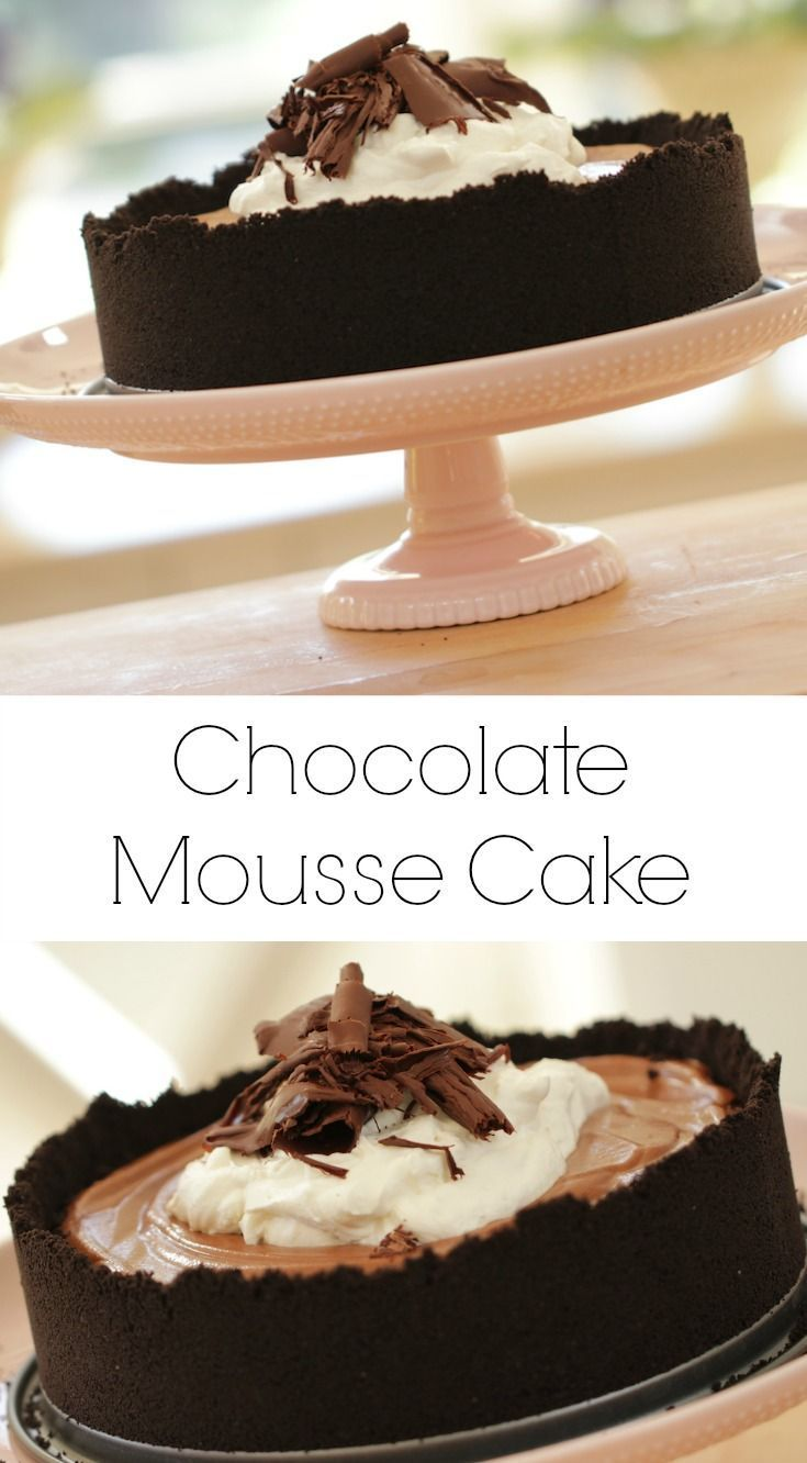 Birthday Cake An Easy Mousse Cake Recipe That Is Oh So