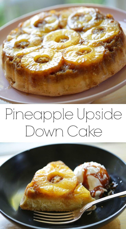 Birthday Cake Pineapple Upside Down Cake A Classic Dessert Reci