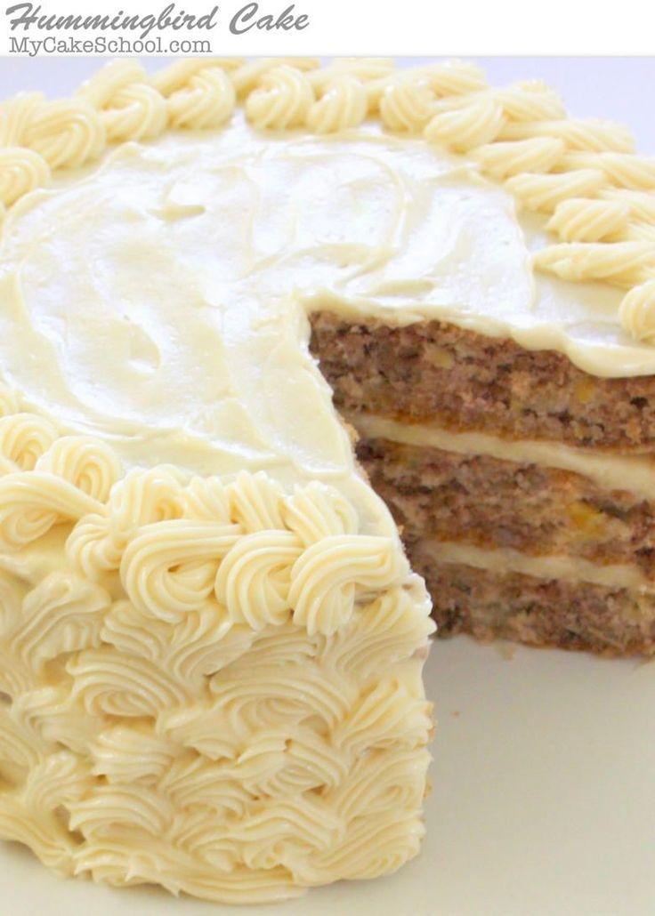 Birthday Cake The Most DELICIOUS Scratch Hummingbird Recipe