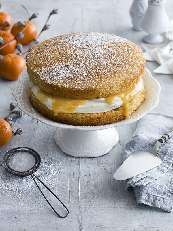 Tiered Victoria Sponge Cake Recipe
