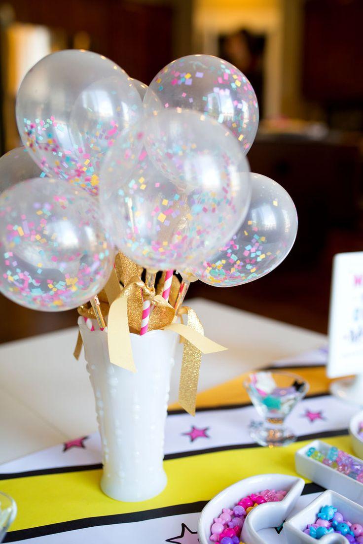 Birthday Decoration Balloon Wands Unicorn Birthday Party