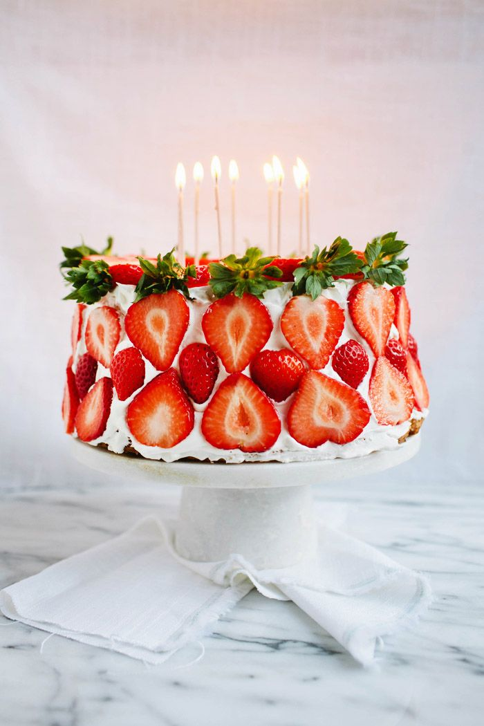 Birthday Decoration Ideas Strawberry Cake Askbirthday You