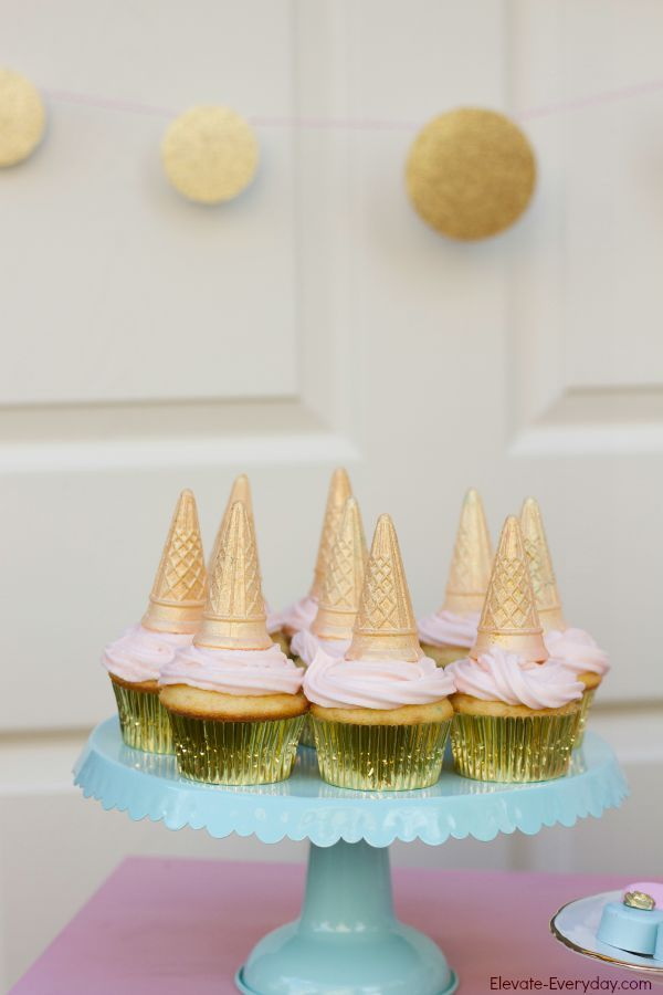 Birthday Decoration Unicorn Cupcakes