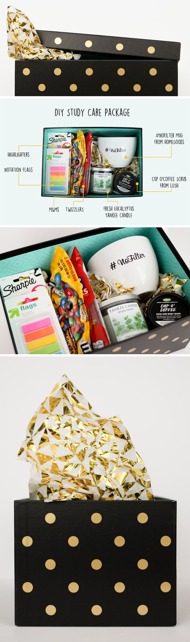 Birthday Gifts Inspiration Our DIY Study Care Package For My