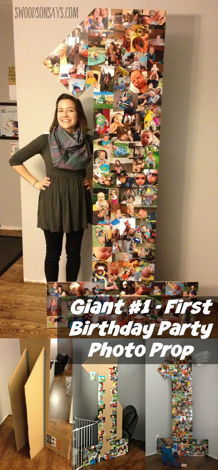 Description How To Make A Cheap First Birthday Party Decoration