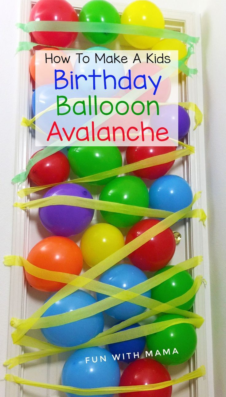 how to make birthday balloons