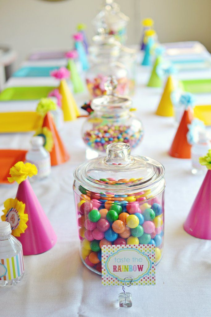 Birthday Party Inspiration Perfect For A Girl Or Boy Rainbow