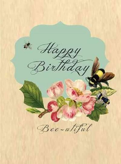 Birthday Quotes Bee Utiful Greeting Cards