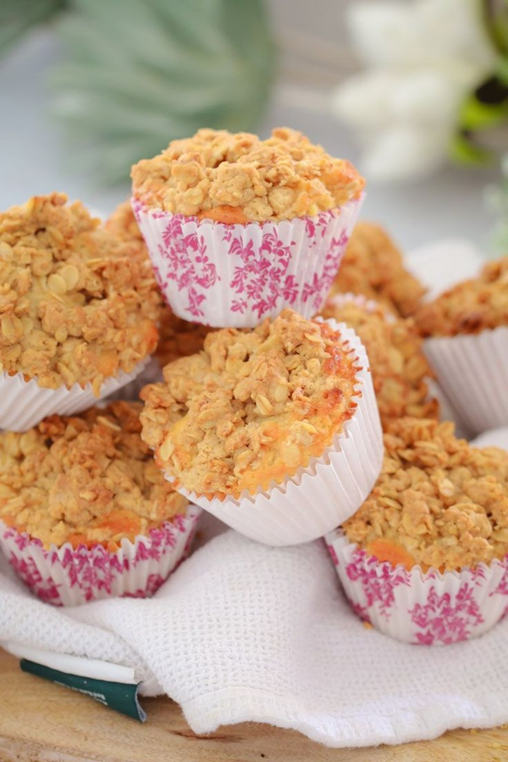 Birthday Cake Super Easy APPLE CRUMBLE MUFFINS A Soft Apple