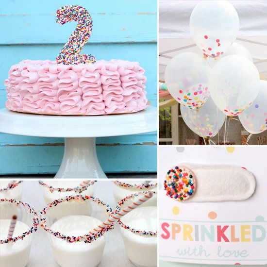 Birthday Decoration A Sweet Sprinkles Inspired Party
