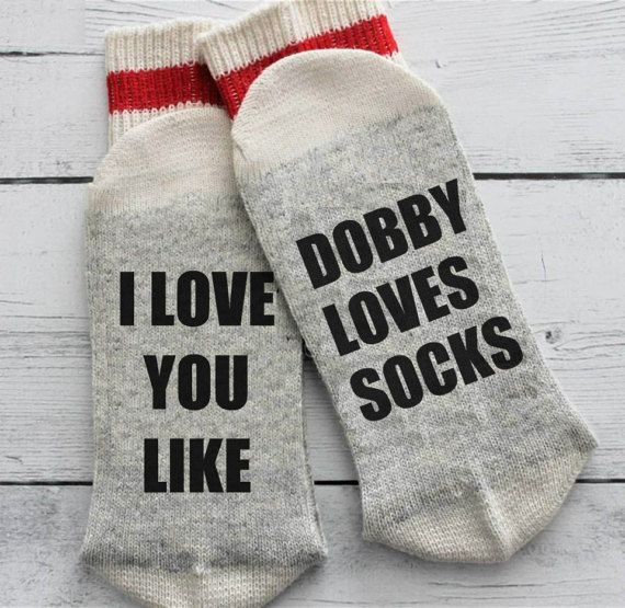 Birthday Gifts Inspiration  & Birthday Gifts Inspiration : Chaussettes de Harry Potter Dobby ...