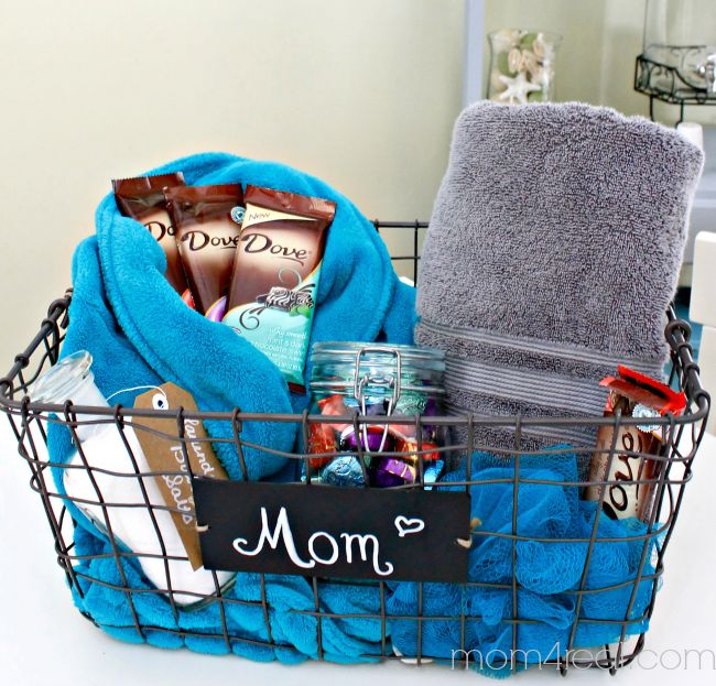 Birthday Gifts Inspiration DIY Spa Gift Idea