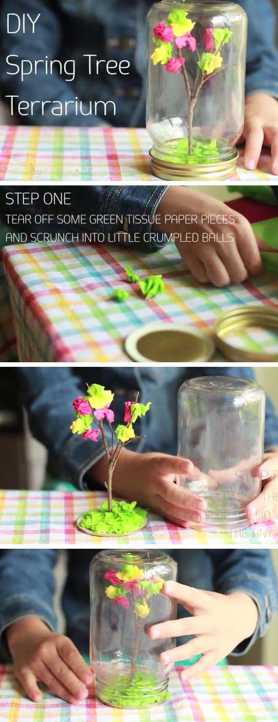 Birthday Gifts Inspiration DIY Spring Terrarium
