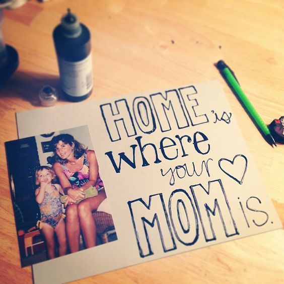 Birthday Gifts Inspiration DIY Gift Idea For Mom From Kids Or