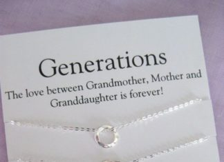 GRANDMOTHER Mother Daughter 50th Birthday Gift For Her G
