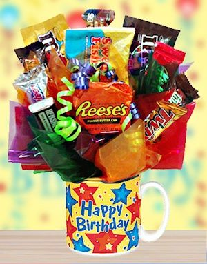 Birthday Gifts Inspiration Happy Candy Mug For Him From