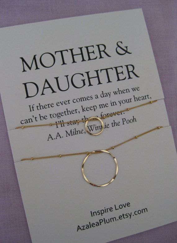 Description MOTHER Daughter Jewelry 50th Birthday Gift By ShopAzaleaPlum