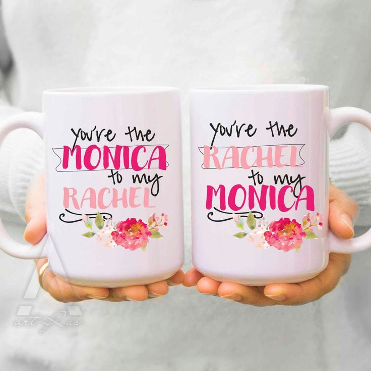 Birthday Gifts Inspiration Best Friend Mugs You Are The Monica To