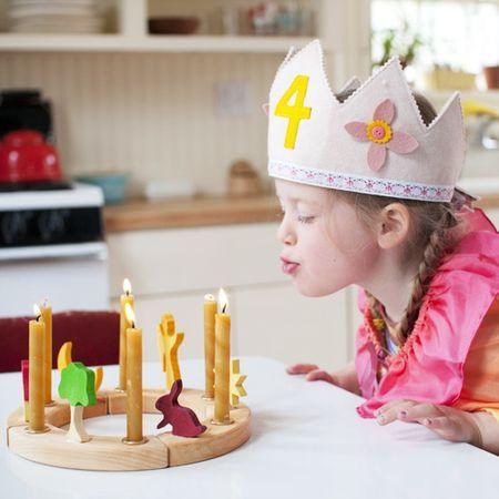 Birthday Inspiration: birthday ring, waldorf, Bella Luna toys