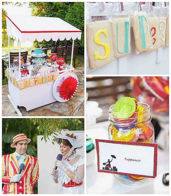 Birthday Party Inspiration Mary Poppins Birthday Party