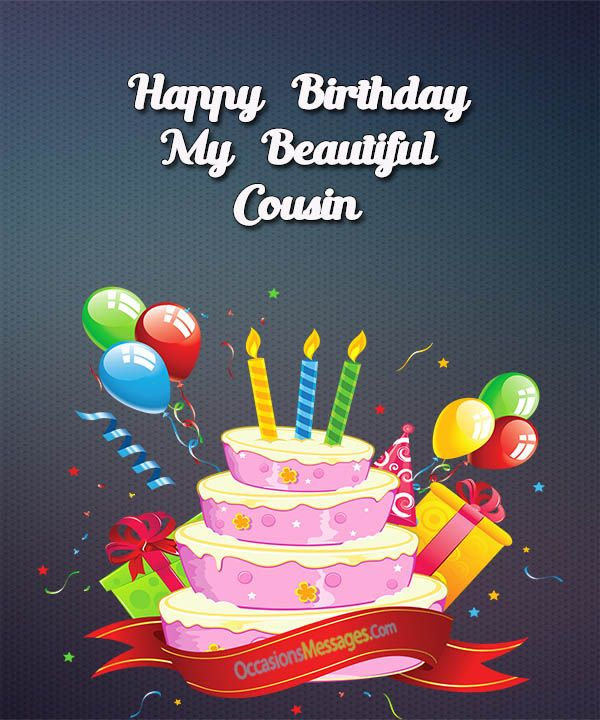 Birthday Quotes Birthday Messages For Cousin Askbirthdaycom