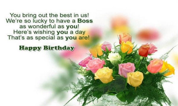 Birthday Quotes Description Happy Wishes For Boss