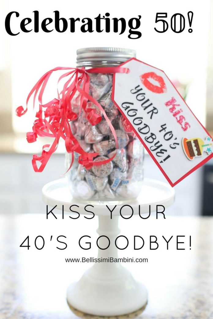 Birthday Gifts Inspiration Kiss Your 40s Goodbye Happy 50th
