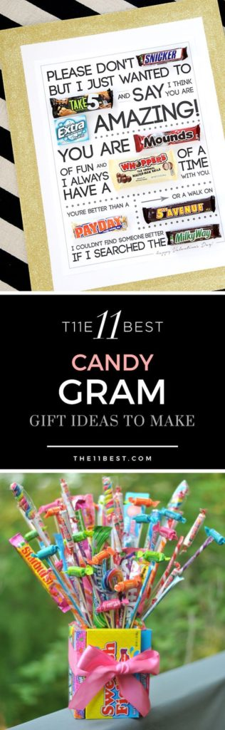 Birthday Gifts Inspiration The Best Candy Gram Ideas Ever Notes