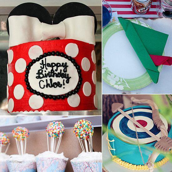 birthday party inspiration best disney inspired birthday party