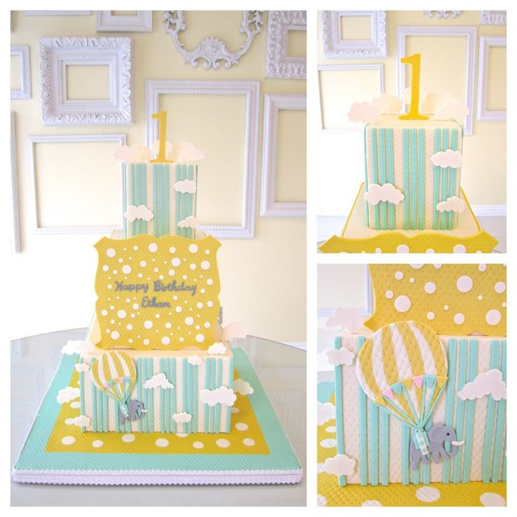 Birthday Party Inspiration Carnival First Birthday Party Cake By A