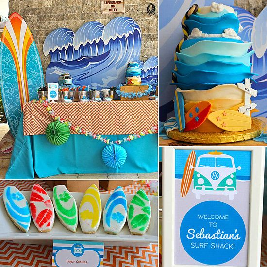 Birthday Party Inspiration Surf Shack