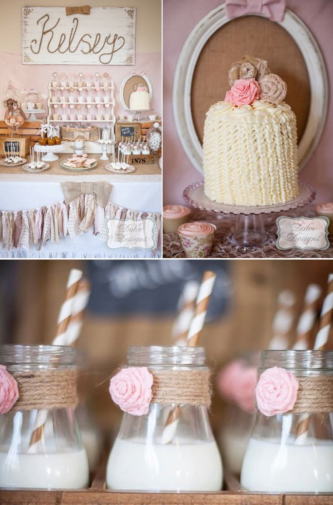 Birthday Party Inspiration Vintage Cowgirl Birthday Party With So