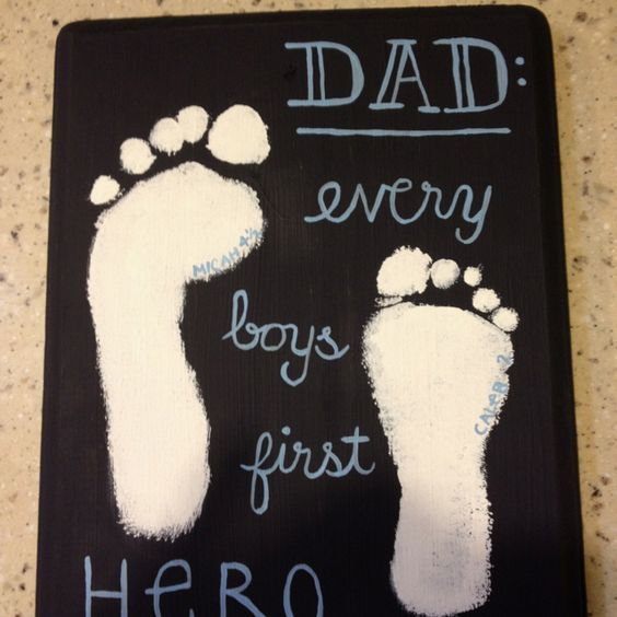 Description First Hero Diy Fathers Day Crafts For Kids Homemade Birthday Gifts