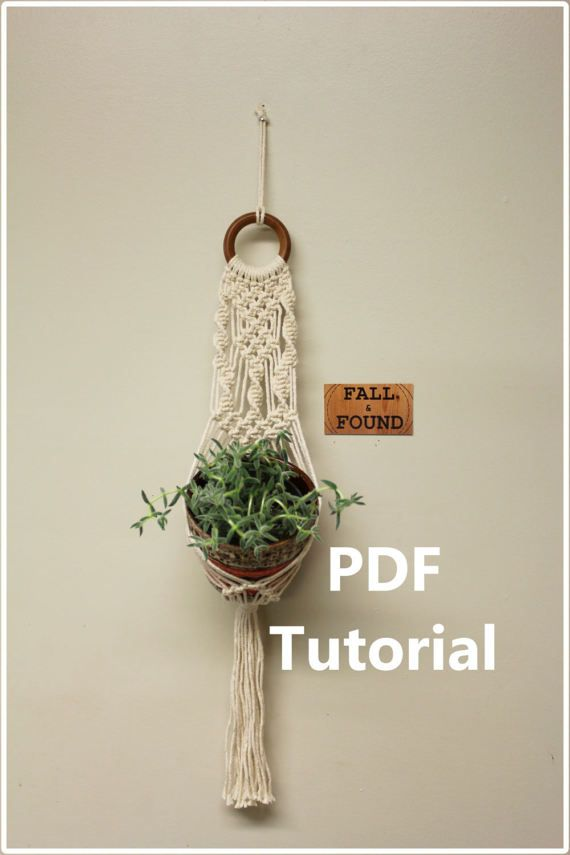 photograph about Free Printable Macrame Plant Hanger Patterns called Birthday Presents Commitment : #Macrame #Plant Hanger Practice