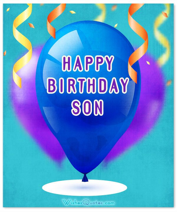 Birthday Quotes : Card Happy Birthday Son - AskBirthday.com ...